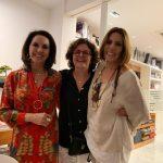 Regina, Eva Joory e Mila Moreira