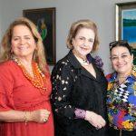 Renata Fraga, Cristina Aboim e Raquel Resende