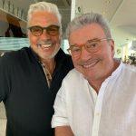 Ricardo Bruno e Edney Silvestre