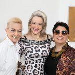 Roberta Monteiro da Fonseca entre Vera Bangel e Maria Isabel Andrade