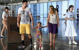 Exposição sobre o aço é opção de lazer para família carioca