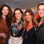 Marta Macedo, Bebel Pacheco, Elga Mattos e Bruna Rinaldi
