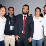 Pablo Meneses, Tatao, Cláudio Castro,Bruno Blat e Freddy Carrillo