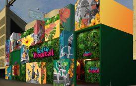 Helton Taveira  é responsável por toda identidade visual do camarote Folia Tropical
