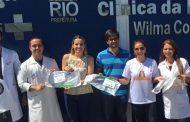 AGENDA DO BEM:  Grupo Mulheres do Brasil doa máscaras para unidades de saúde