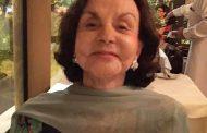 Morre Gilda Saavedra no dia do seu centenário