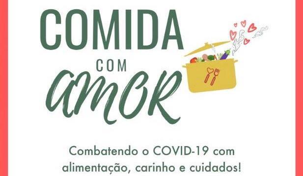 """Projeto """"Comida com Amor"""" atende comunidades carentes do Rio"""