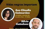 """O cineasta Silvio Guindane  conversa com Ana Claudia Guimarães sobre """"Vidas Negras importam"""""""