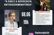 Advogados  da OAB, debatem a discriminação no Brasil