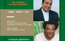 Padre Omar conversa com  Hugo Camarate sobre Meio Ambiente