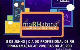 MaRHatona, a maior live de RH do Brasil