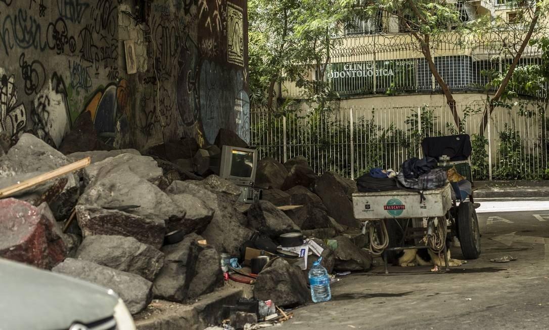 Prefeitura do Rio pede na justiça para recolher moradores de rua
