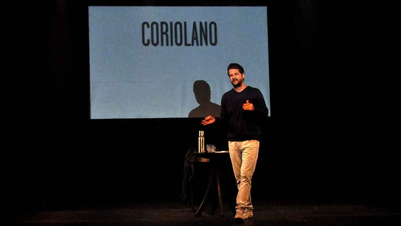 """Marcelo Serrado: """"Estranho não ouvir risos e aplausos"""""""