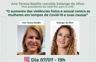 Live aborda a violência física contra mulheres