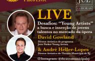 """Theatro Municipal Palco Livre apresenta a live """"Young Artists"""" – a busca e inserção de jovens talentos no mercado da ópera"""