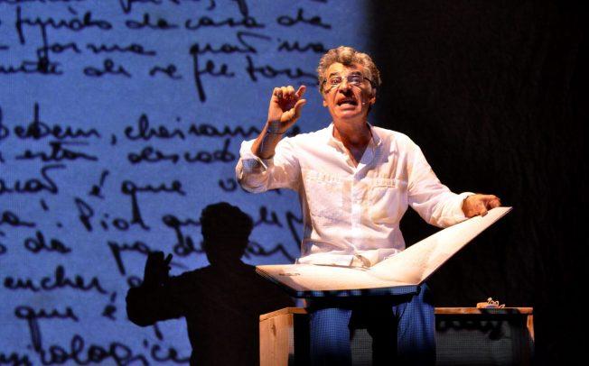 Teatro Petra Gold apresenta monólogo de Paulo Betti