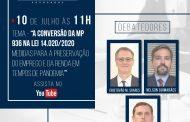 Bosisio Advogados realiza live sobre a conversão da MP 936