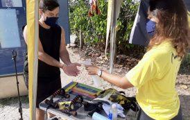 Rio Ecoesporte realiza atividades físicas na praia da Barra