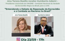 Debate da reparação da escravidão e o combate ao racismo no Brasil