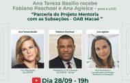 Advogados falam sobre o Projeto Mentoria da OAB de Macaé