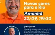 Chicô Gouvêa conversa com o candidato Fred Luz
