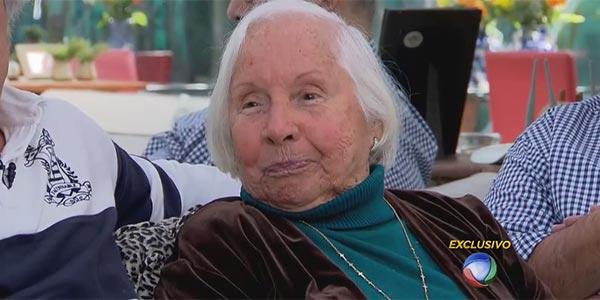 Morre Dona Florinda Barbosa, viúva do Chacrinha