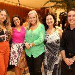 Flavia Campos, Mirian Dutra, Rosa Prado, Ana Adriano e Eduardo Lucca