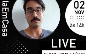 Artistas Jovens e a Ópera é o tema da Campanha #AulaEmCasa do Municipal do Rio