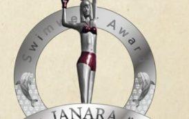 Cidinho Pereira recebe premiação Janara Swimwear Award 2000