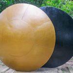 Parque da Catacumba - escultura Acoplamento, de Mario Cravo