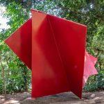Parque da Catacumba, escultura Estrutura em diagonal ou Flor de Cactos, de Franz Weissmann