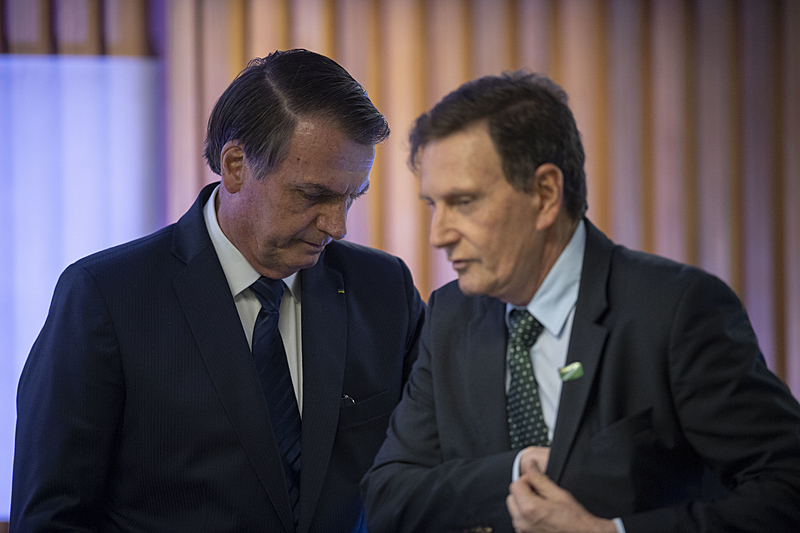 Crivella quer ser Ministro do governo Bolsonaro