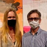 Cathrine Crawfurd e o marido, Rune Bjastad