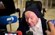 Aos 116 anos, freira mais velha da Europa se recupera da Covid