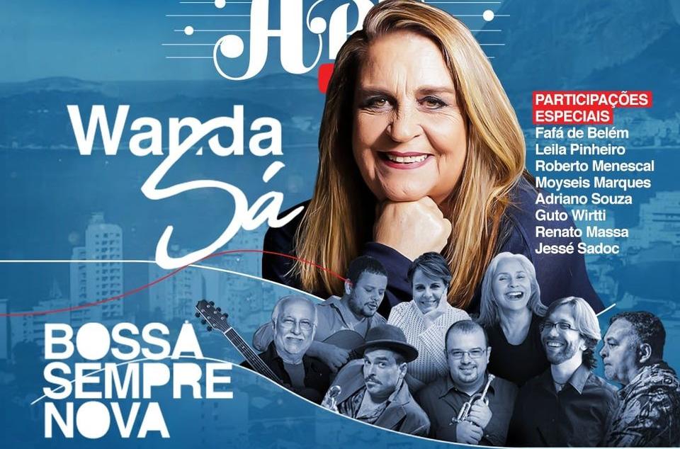 Wanda Sá faz show online pelo Blue note Rio e São Paulo