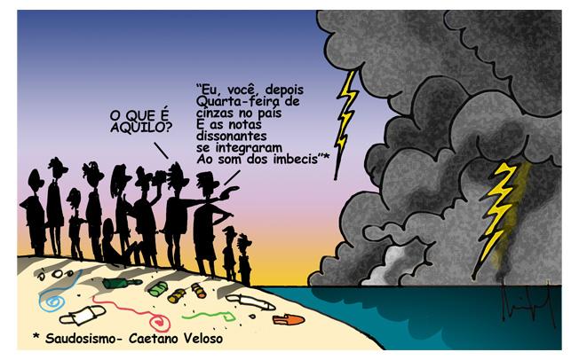 ACABOU O NOSSO CARNAVAL