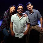 Fabi Oliveira, Lúcio Mauro Filho e Pedro Medina