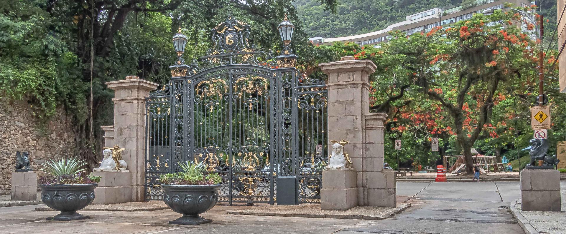 Portão do Parque Guinle é restaurado