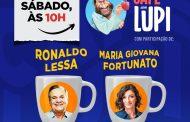 Política é o tema do Café com Lupi deste sábado