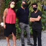 Ana Paula Iespa, Mario Amorim e Luis Fernando Amorim