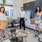 Ana Paula, Paulo Costa e Claudia Brassaroto