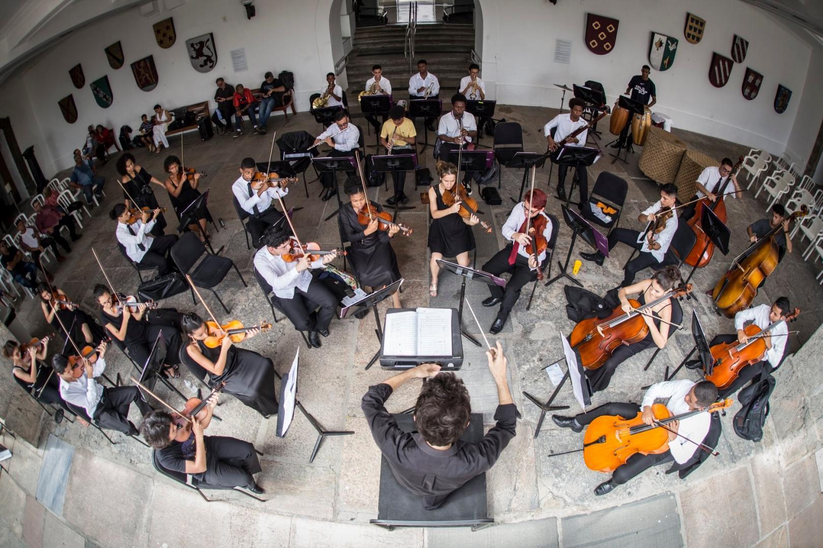 Academia Juvenil da Petrobras Sinfônica lança música de Pixinguinha