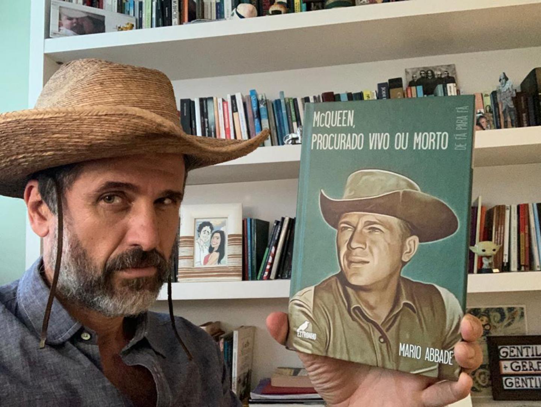 Eriberto Leão faz aula magma em homenagem a Steve McQueen