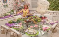 Roberta Niemeyer prepara café da manhã de Páscoa criativo para os filhos de Giovanna Ewbank e de Glória Maria