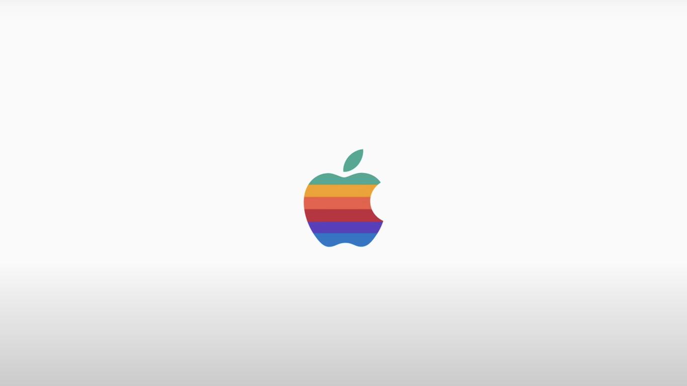 Apple muda seu logotipo e volta aos anos 70