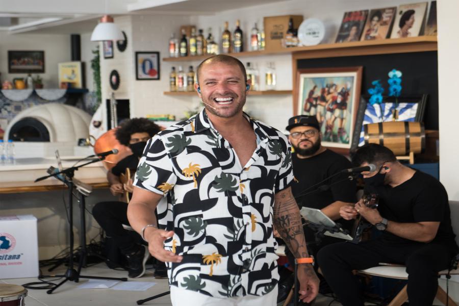 Diogo Nogueira faz live para comemorar seus 40 anos