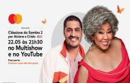 Alcione e Criolo se unem em live musical com iniciativa da Mastercard para combater a fome