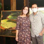 Adriana Esteves e Marcelo Guidine