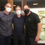 Ari Kaye, Salomão Crosman e Rodolfo Moraes