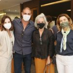 Patricia Mayer, Ari Kaye, Patricia Quentel e Flavia Marcolini